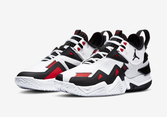 """The Jordan Westbrook One Take Gets A """"Black Toe"""" Style Colorway"""