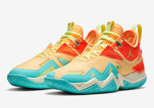 The Vivid Colors Continue On The Jordan Westbrook One Take With Mango And Aqua