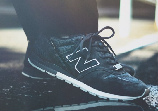 Journal Standard Adds Tough Cordura To The New Balance 996