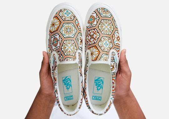 KITH Reveals Vans Slip-On Collaboration In Summer 2020 Lookbook