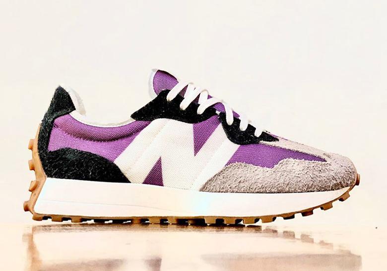 327 new balance kaki purple