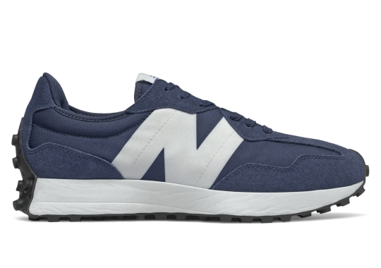 The New Balance 327 Appears In Classic Navy