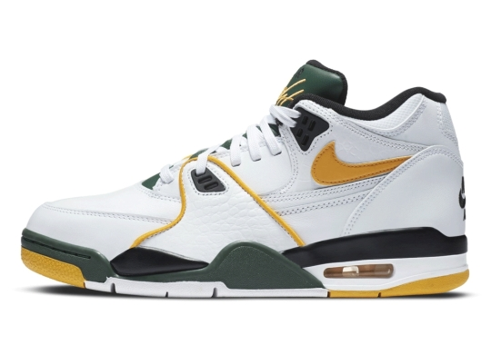The Nike Air Flight '89 Gets A Seattle Supersonics Mix