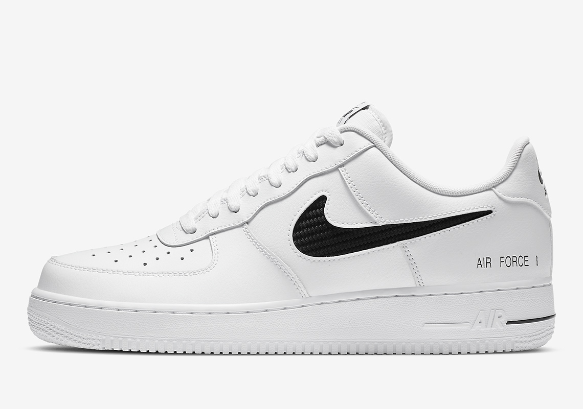 Nike Air Force 1 Cut Out Swoosh Cz7377 100 Release Info