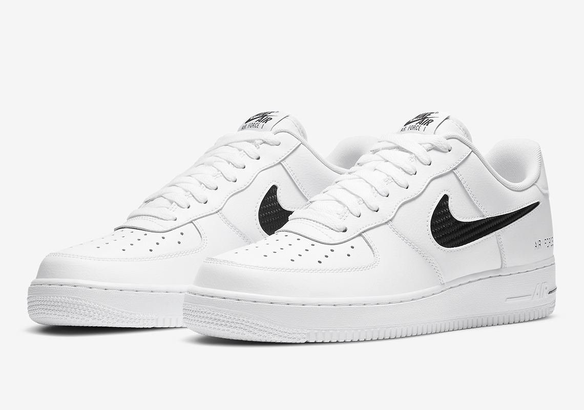 nike air force 1 cut