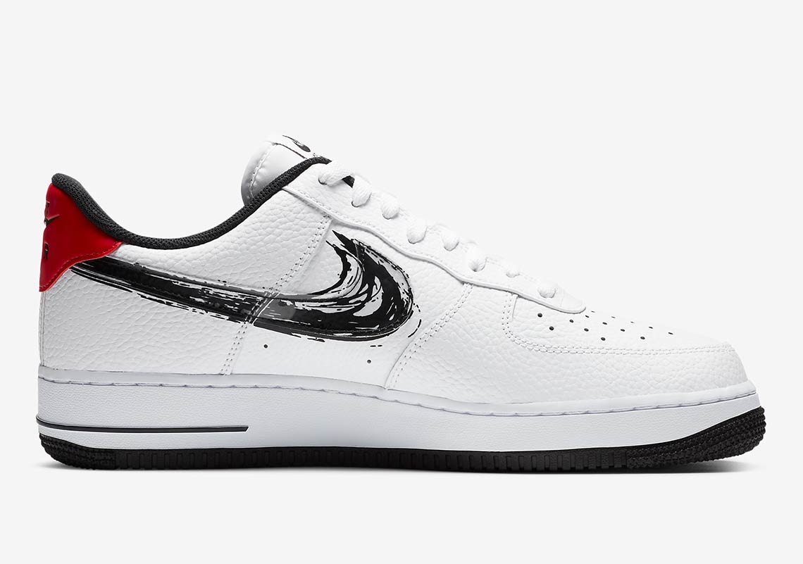 Nike Air Force 1 Low Brushstroke Pack Release Info | SneakerNews.com