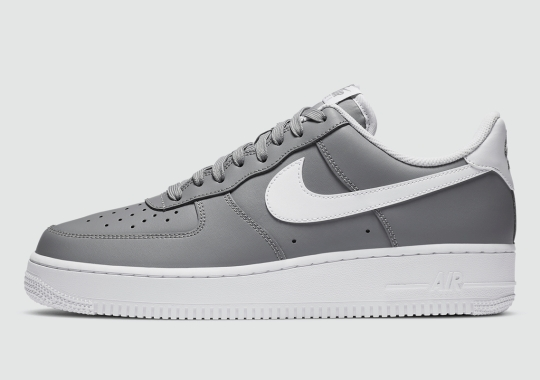 """A Clean Nike Air Force 1 Low """"Wolf Grey"""" Appears"""