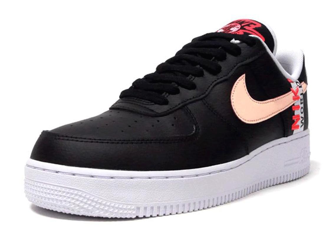 Nike Air Force 1 Low Worldwide Pack CK6924-001 | SneakerNews.com