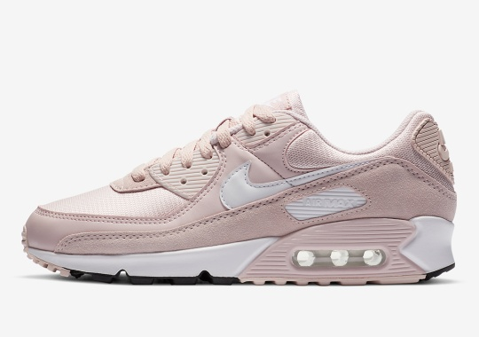 """The Nike Air Max 90 """"Barely Rose"""" Arrives For Women"""