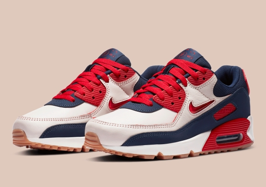 """Nike's Air Max 90 Jewel """"Home and Away"""" Capsule Reveals A Third Colorway"""