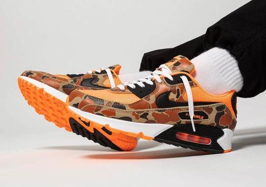"The Nike Air Max 90 ""Orange Duck Camo"" Releases Tomorrow"