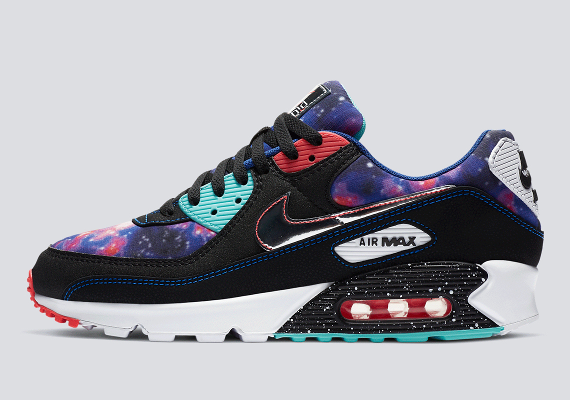 Nike Air Max 90 Supernova Galaxy Cw6018 001 Sneakernews Com