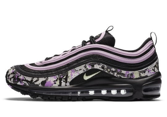 A Paint-Splattered Nike Air Max 97 Is Revealed