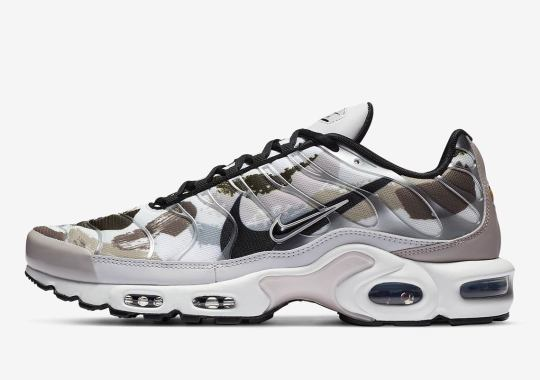 Nike Covers The Air Max Plus With Brushstroke Graphics