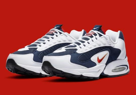 "Nike Brings Back The Air Max Triax 96 ""USA Olympic"""