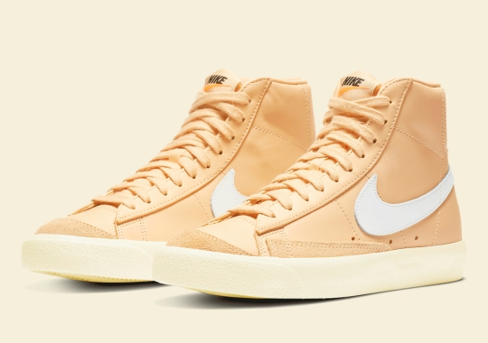 """Nike Blazer Mid '77 """"Butter"""" Is Coming Soon"""