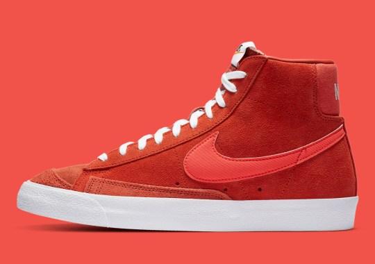 "The Nike Blazer Mid '77 Surfaces In ""Mantra Orange"""
