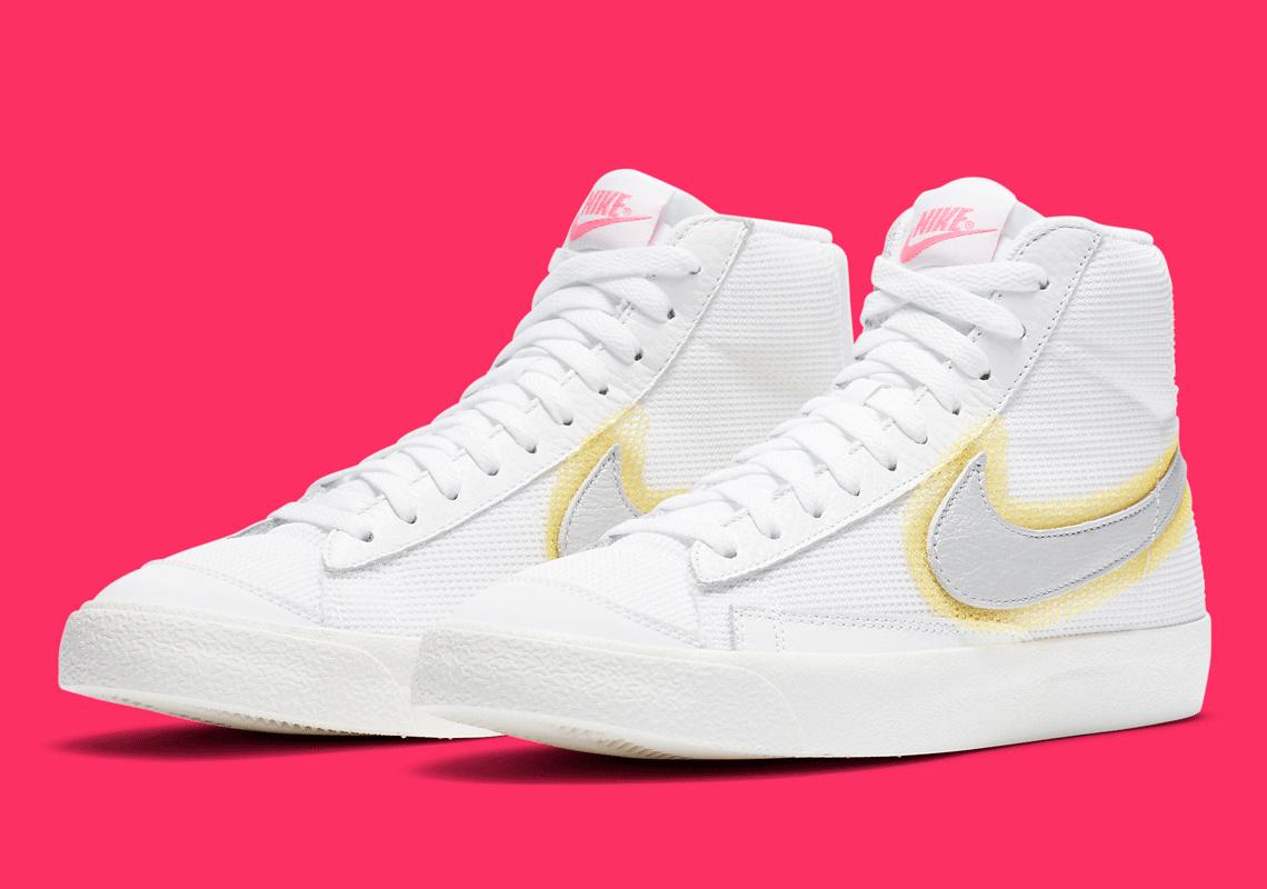 Nike Blazer Mid '77 Spray Swoosh CZ8105