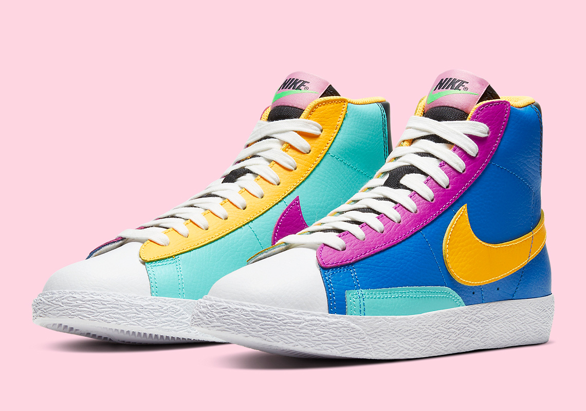 Infos sur la Nike Blazer Mid Big Kids CZ9441-400 - Crumpe