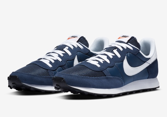 Retro Runner Lovers Get Treated With The Nike Challenger OG In Navy