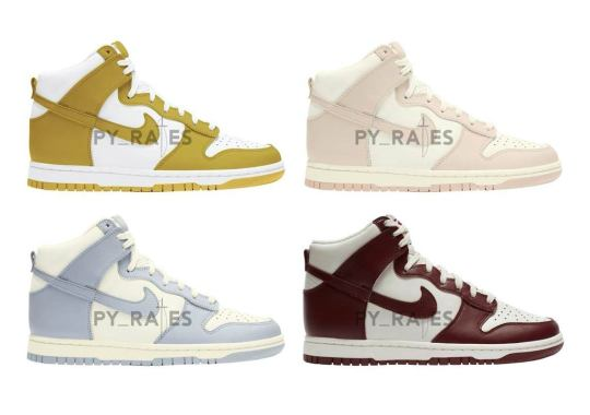 The Nike Dunk High To Deliver Some Spring-Ready Women's Exclusives In 2021