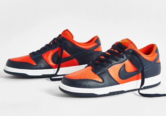 """Where To Buy The Nike Dunk Low """"Champ Colors"""""""