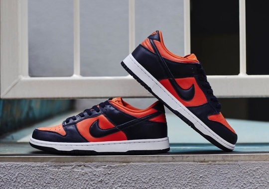 """Closer Look At The Nike Dunk Low """"Champ Colors"""""""