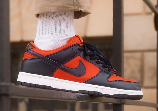 """The Nike Dunk Low """"Champ Colors"""" Releases Tomorrow"""