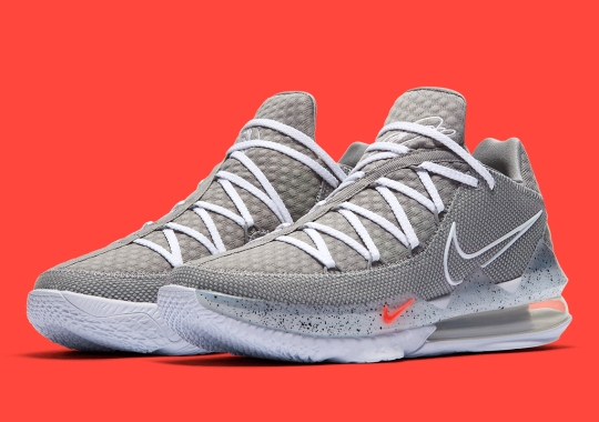 "The Nike LeBron 17 Low ""Particle Grey"" Is Available Now"