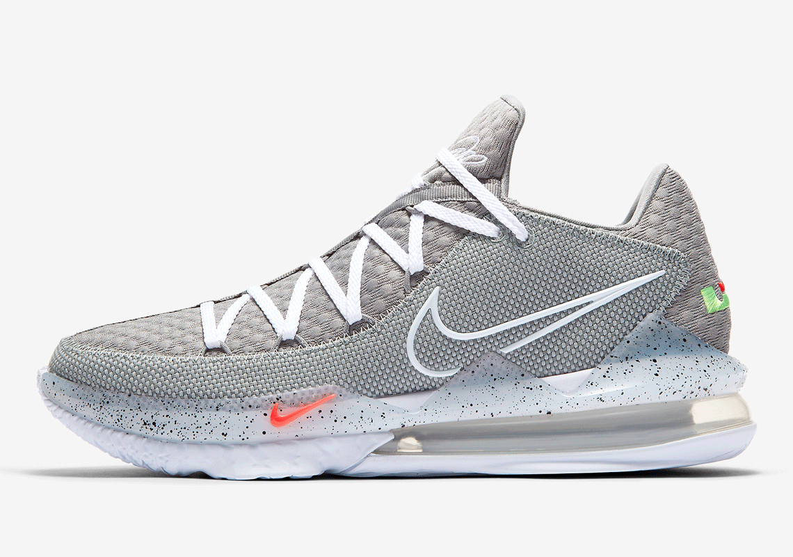 Nike LeBron 17 Low Particle Grey CD5007
