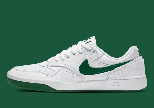 The Nike SB GTS Arrives In A Simple White/Green Colorway