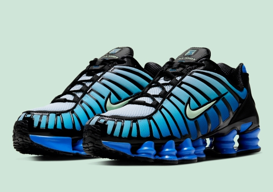 The Nike Shox TL Borrows The Classic Air Max Plus Gradient