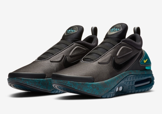 The Nike Adapt Auto Max Returns With Green Splattered Soles