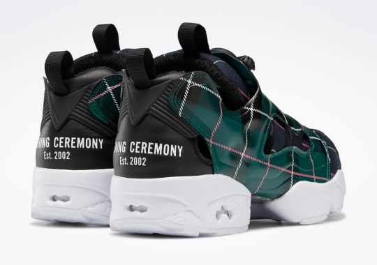 Opening Ceremony Dresses Up The Reebok Instapump Fury In Plaid Prints