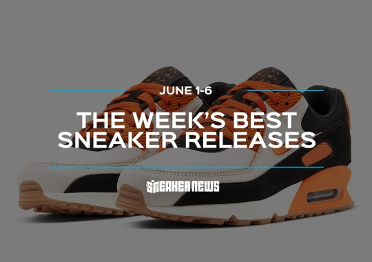 """The Nike Air Max 90 """"Home And Away"""" Lead's This Week's Best Sneaker Releases"""
