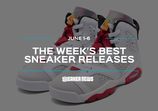 "Air Jordan 6 ""Hare"" And Air Max 90 ""Home And Away"" Among This Week's Best Sneaker Releases"