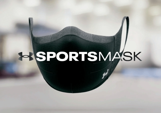 Under Armour Reveals A Performance Face Mask For Athletes