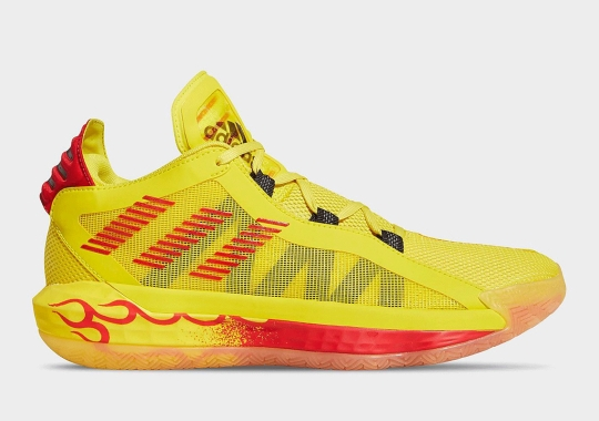 "adidas Dame 6 ""Hot Rod"" Drops This Weekend"