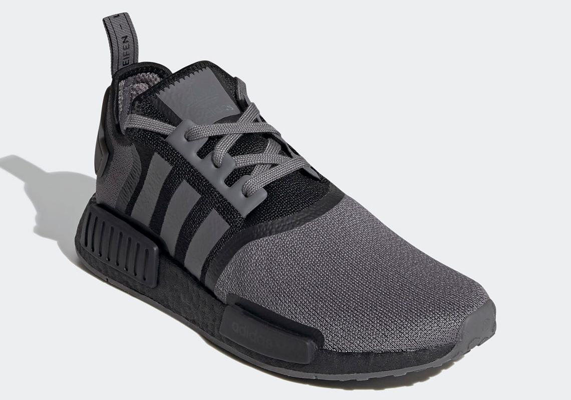 adidas NMD R1 Black Grey FV1733 Release