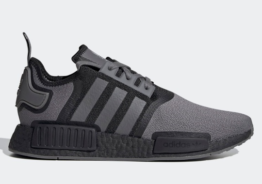 The adidas NMD R1 Arrives In Grey Four And Core Black
