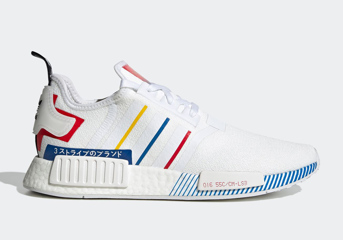 adidas NMD R1 Olympic Pack FY1432 Release Info |