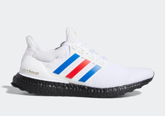 The adidas Ultra Boost Covers The Three Stripes In American Colors