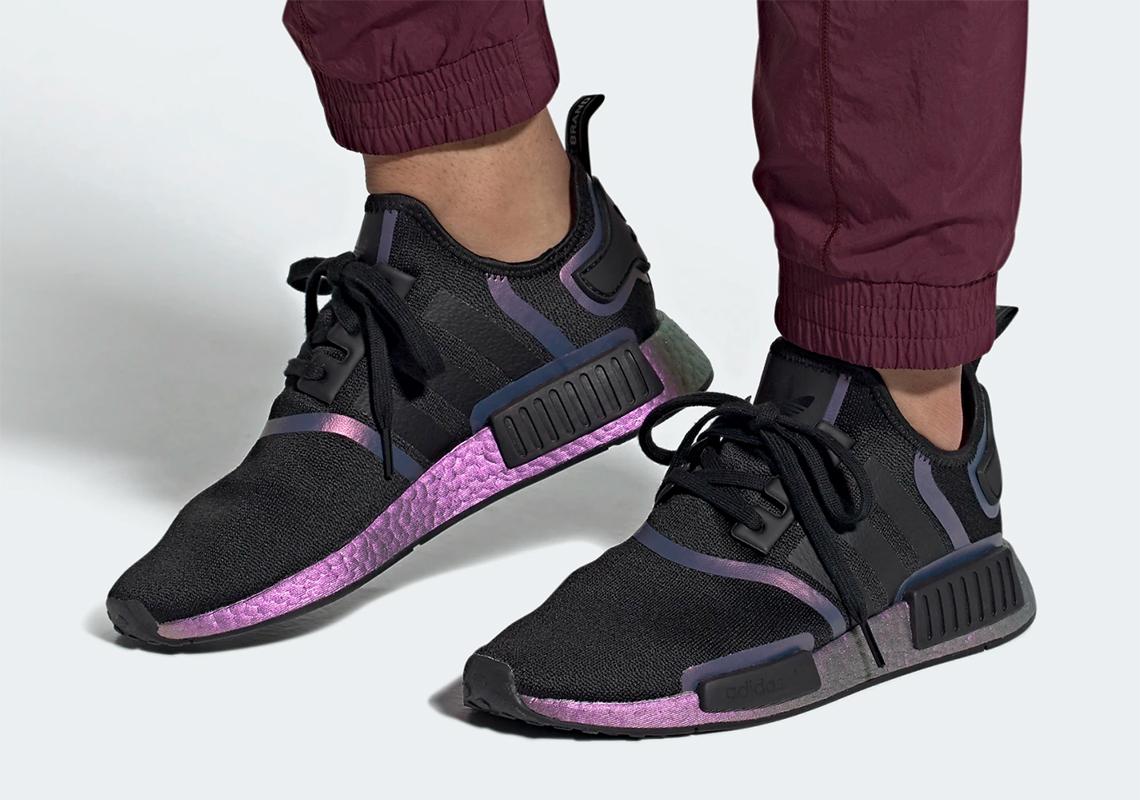 adidas nmd black and purple