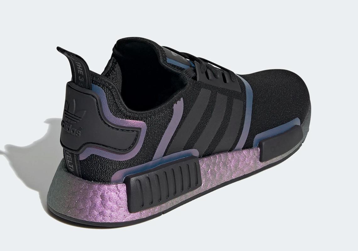 Talla Estoy orgulloso Calificación  adidas NMD R1 Black Purple FV8732 - Release Info | SneakerNews.com