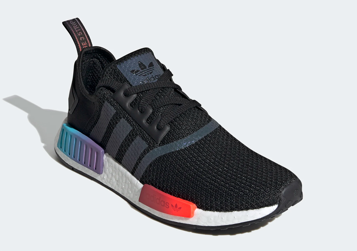 Adidas Nmd R1 Black Gradient Fw4365 Sneakernews Com