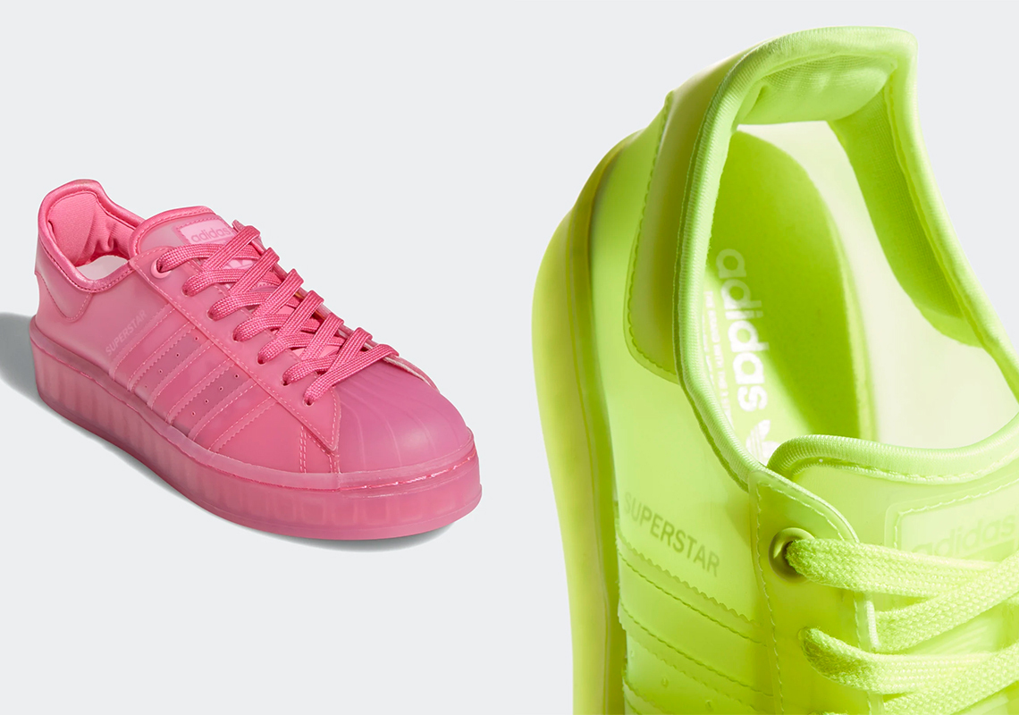 Edad adulta lucha Limpiamente  adidas Superstar Jelly Yellow FX2987 - Release Date | SneakerNews.com