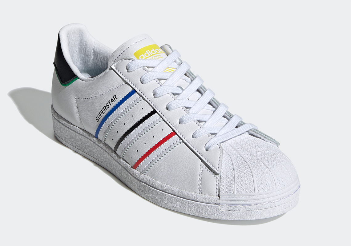 adidas Superstar White Multi-Color