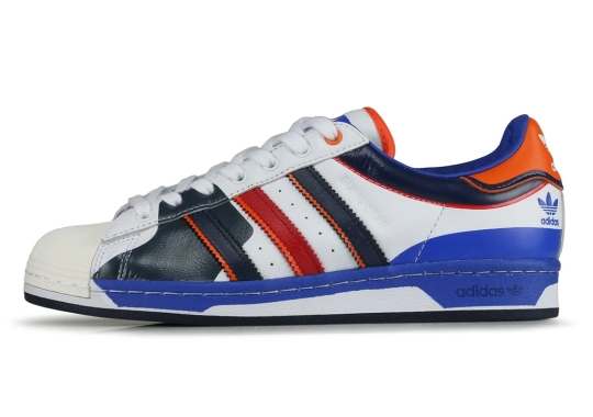 The adidas Superstar Blends Two Basketball Classics Into One Shoe