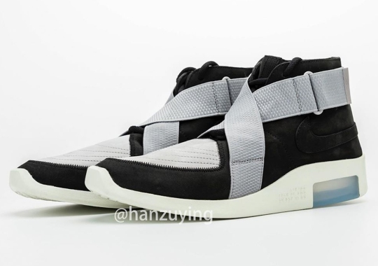Detailed Look At The Nike Air Fear Of God Raid In Black/Grey