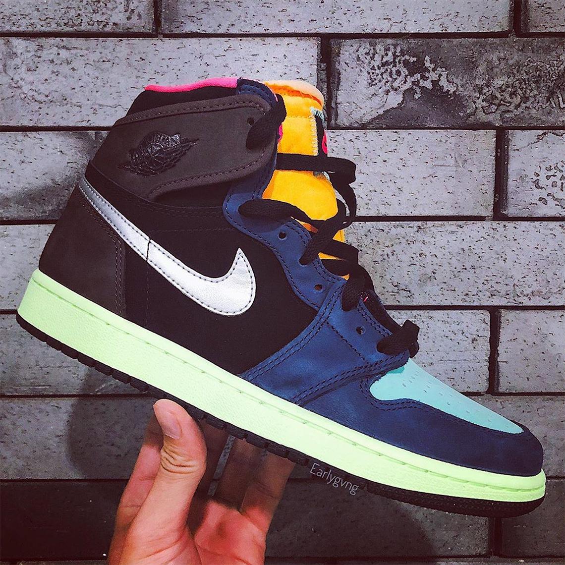 Air Jordan 1 High Brown Blue 555088-201 | SneakerNews.com